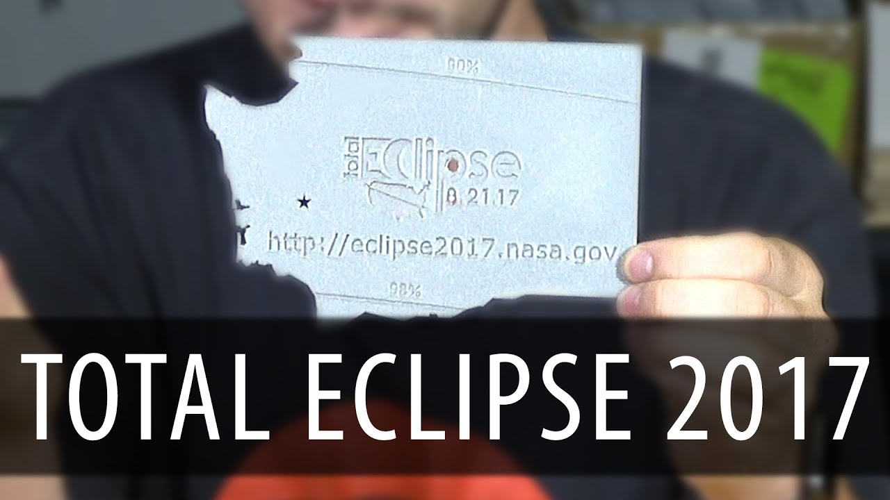 3D Printing NASA Pinhole Projector for Solar Eclipse 2017