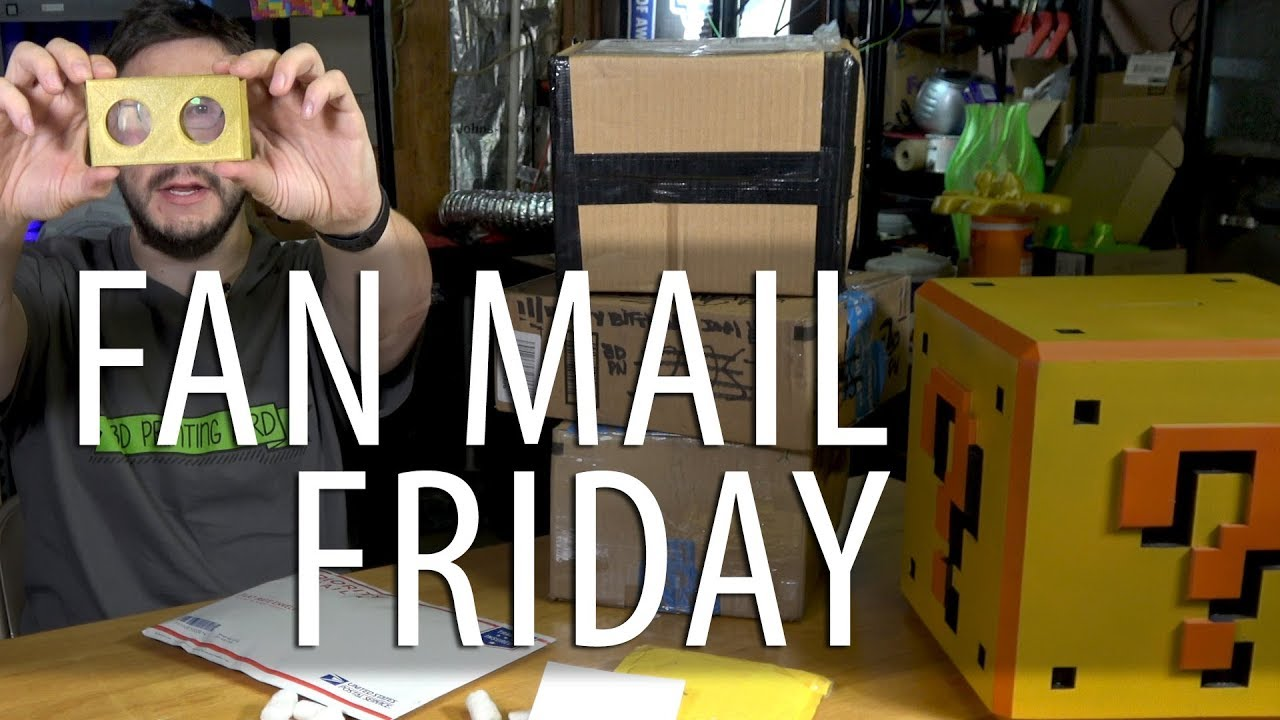 Fan Mail Friday on a Saturday?!?!