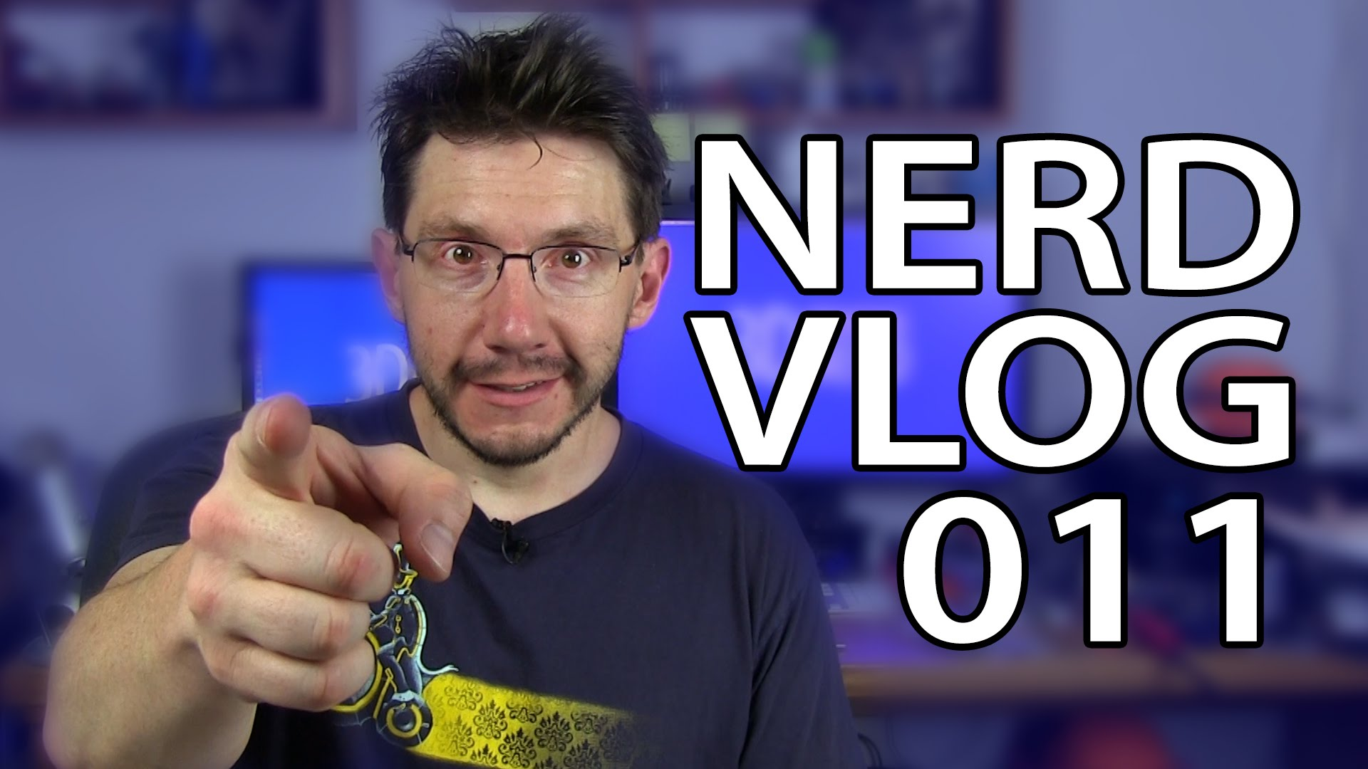 Nerd Vlog 011 – 3D Printing Channel Update
