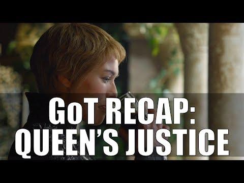 Game of Thrones Queen's JusticeRecap LIVE!