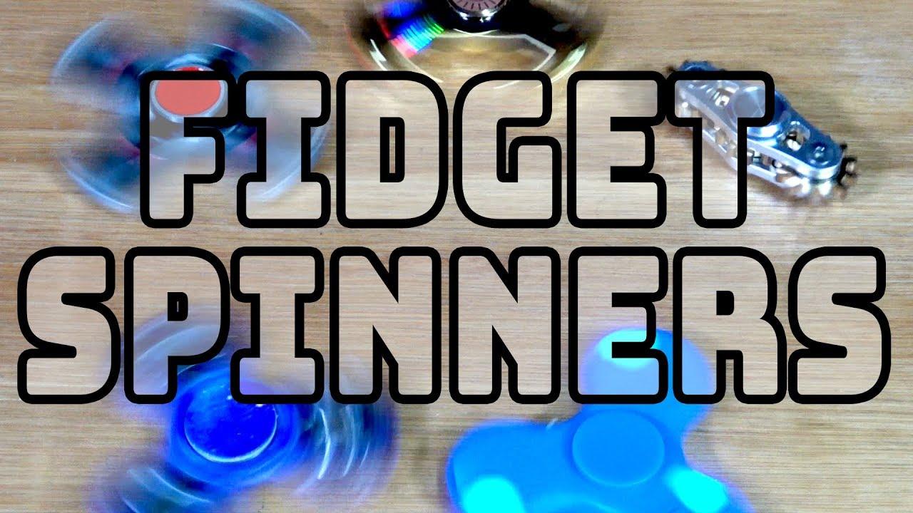 Fidget Spinners!