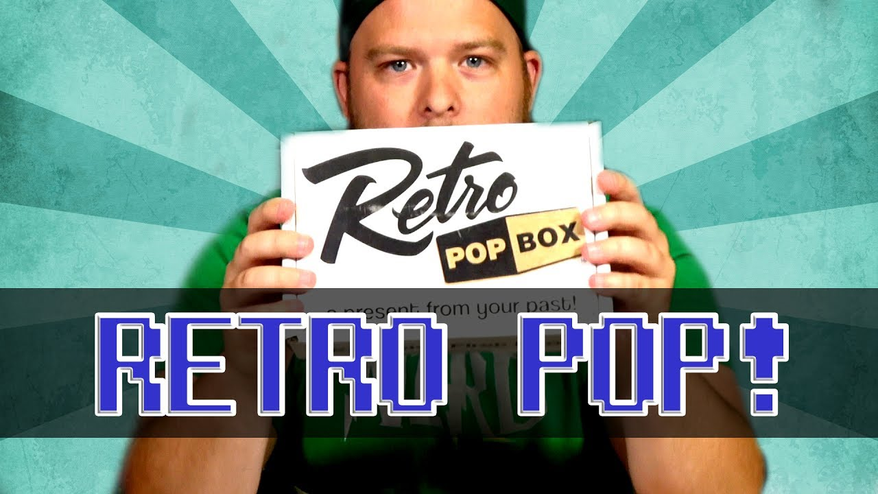 Unboxing the Retro Pop Box Monthly Subscription Box