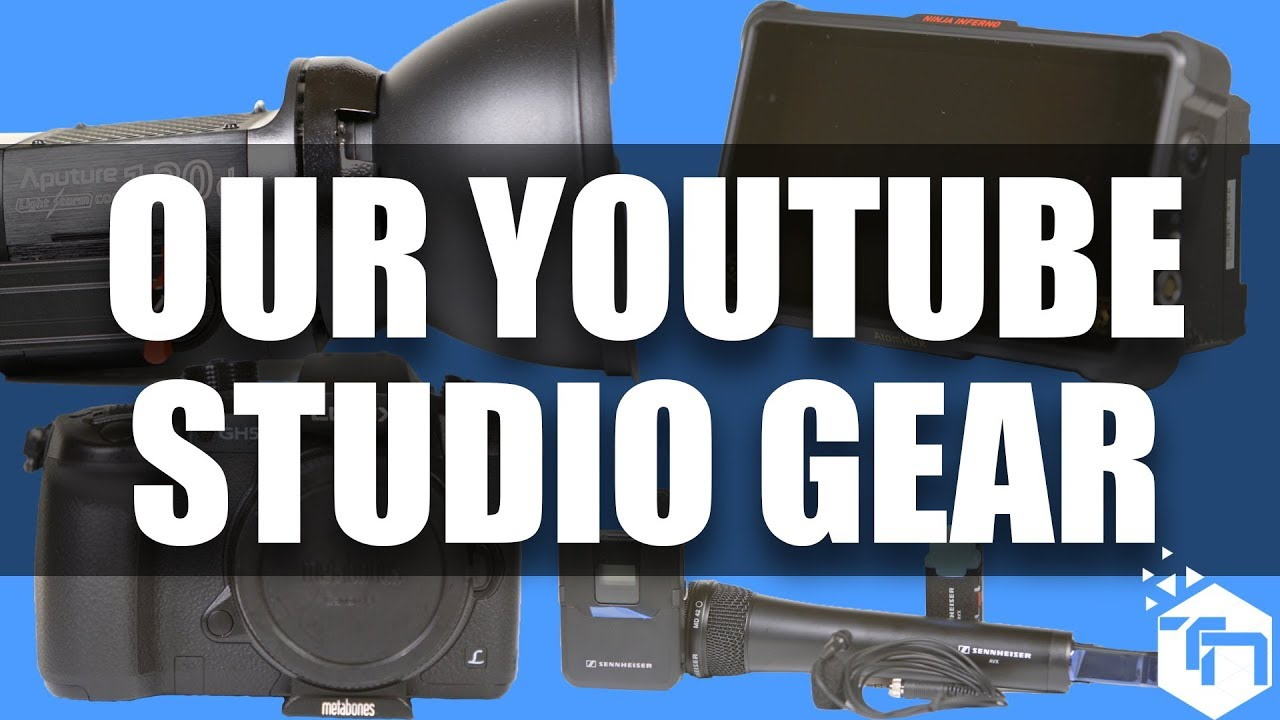 The Gear You Need for Your YouTube Studio!
