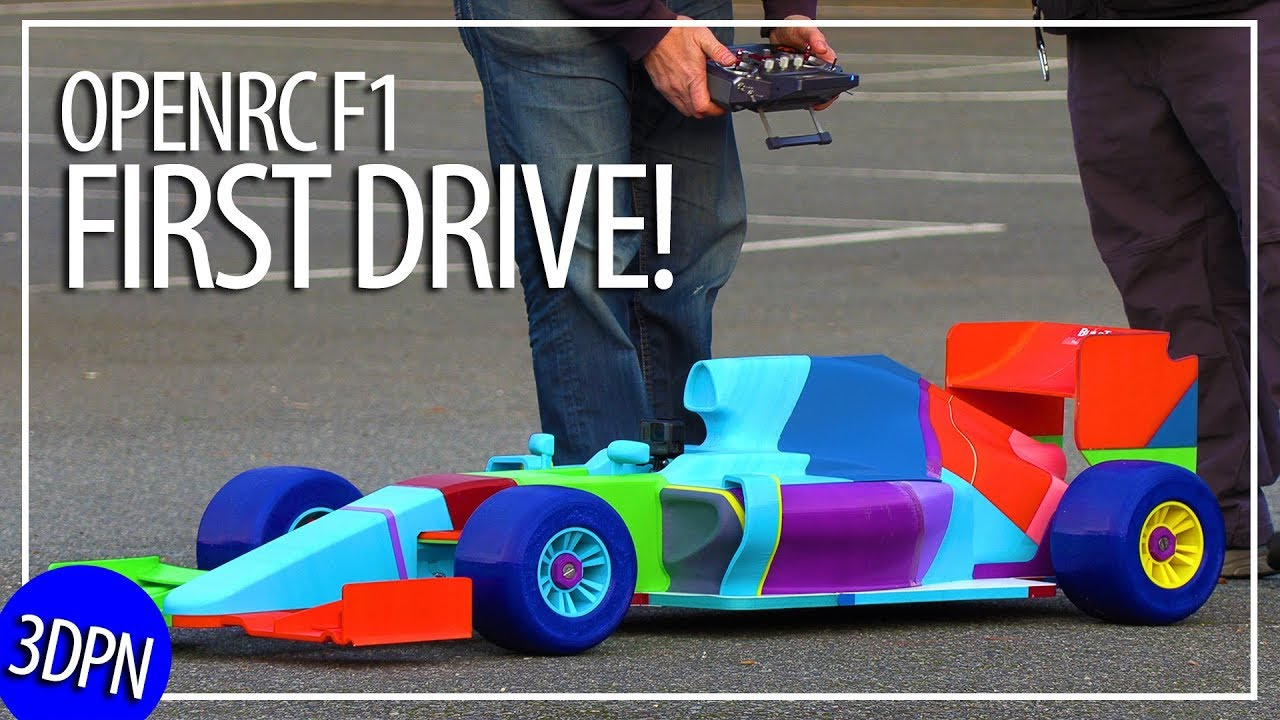 Worlds Largest OpenRC F1 – The First Drive?