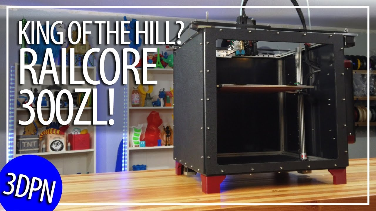 Railcore II 300ZL Project R3D 3D Printer Kit Review