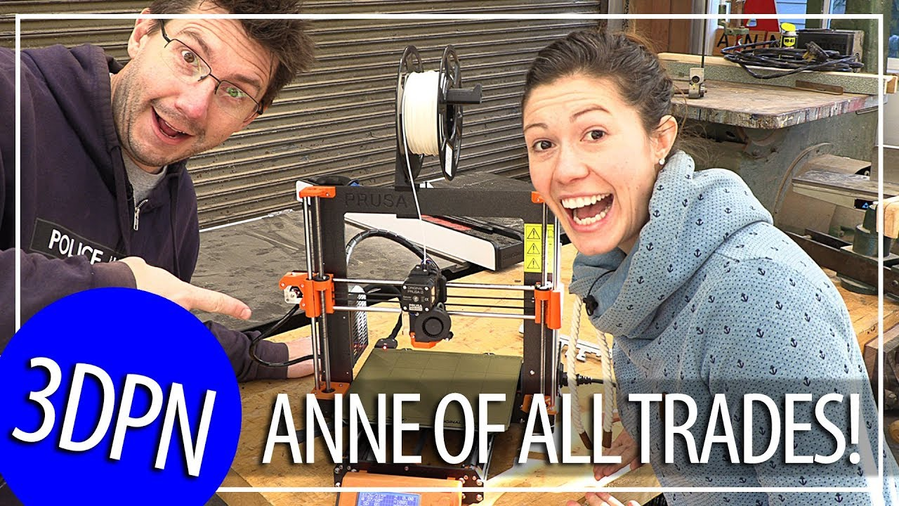 3D Printing Alpacas and Playmobil Fixes with Anne Of All Trades!