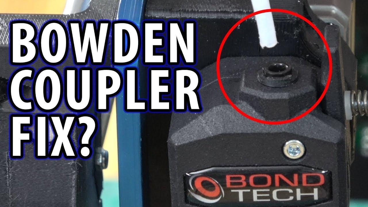 Bondtech Bowden PTFE Coupler Fails – Here Is My Fix