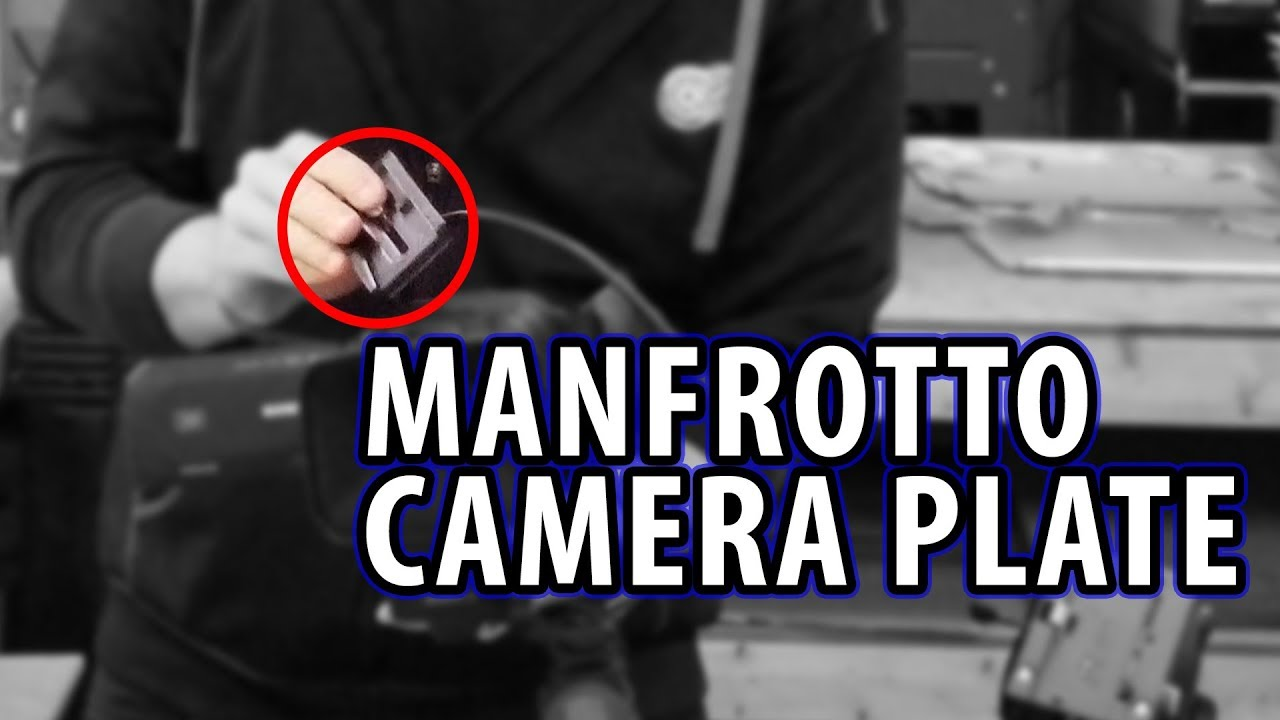 3D Printing a Manfrotto 501PL Quick Release Camera Plate