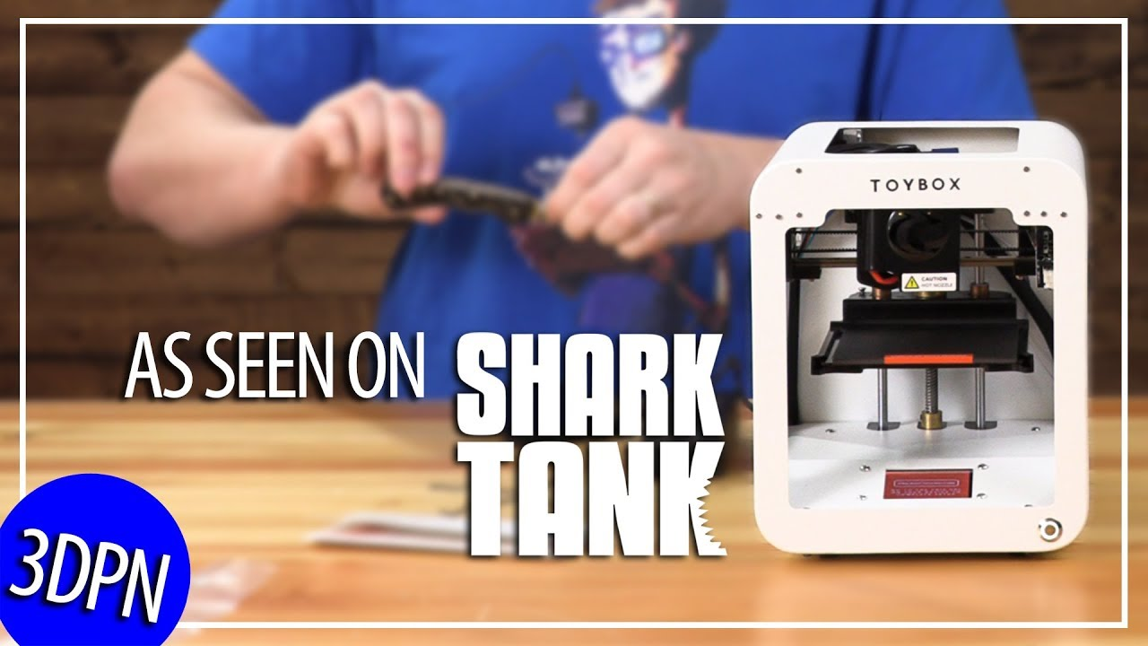 Toybox 3D Printer! Testing It BEFORE Seeing It On SHARK TANK