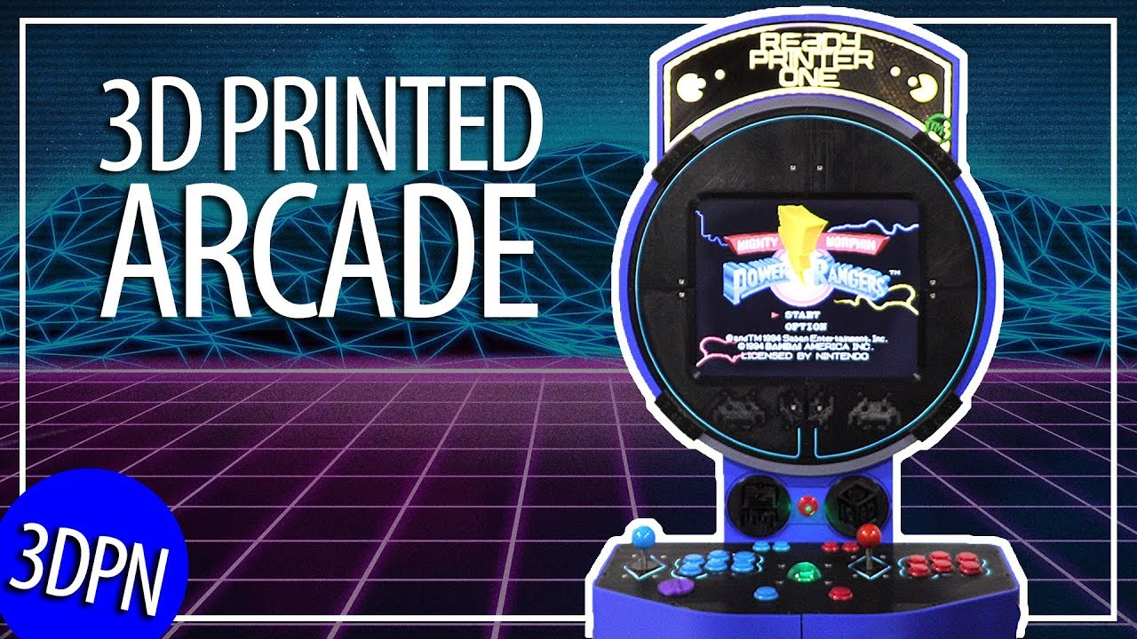 3D Print YOUR OWN ARCADE GAMES!