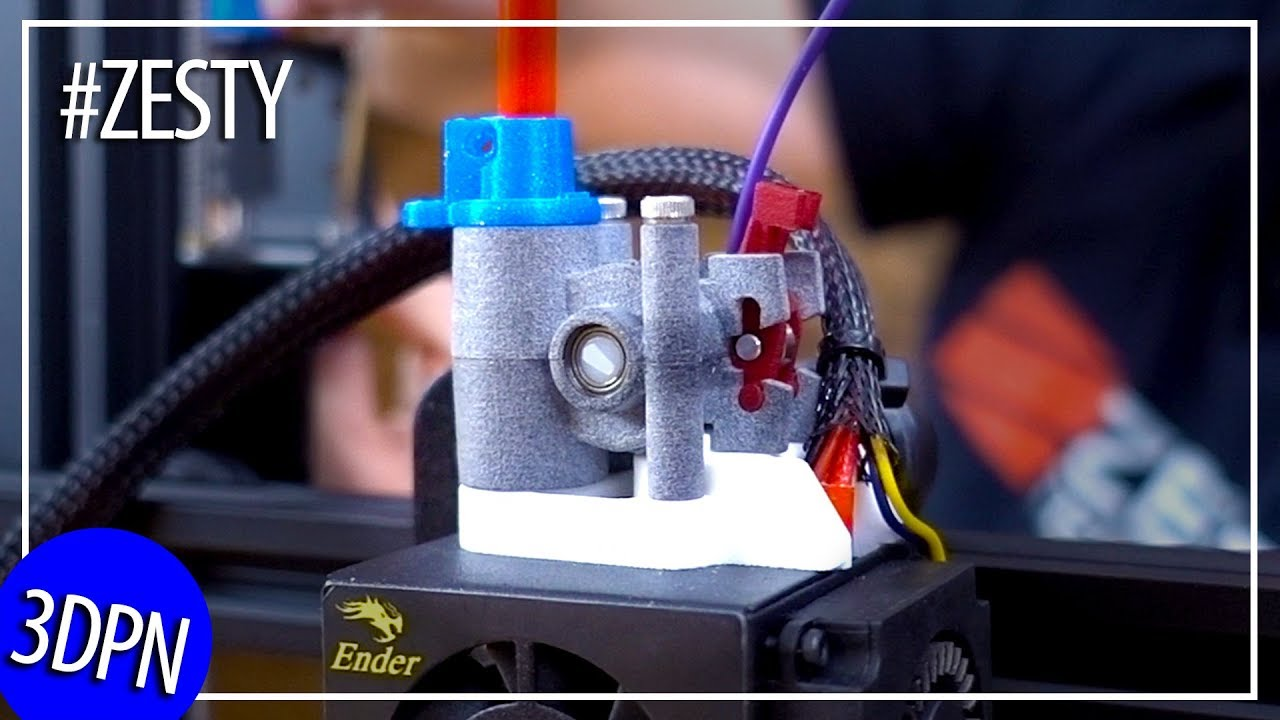 Zesty Nimble – The Remote Direct Drive Extruder IN STUDIO!