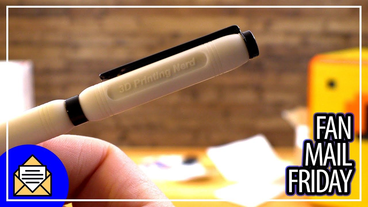 3D Printed PENS! – Fan Mail Friday