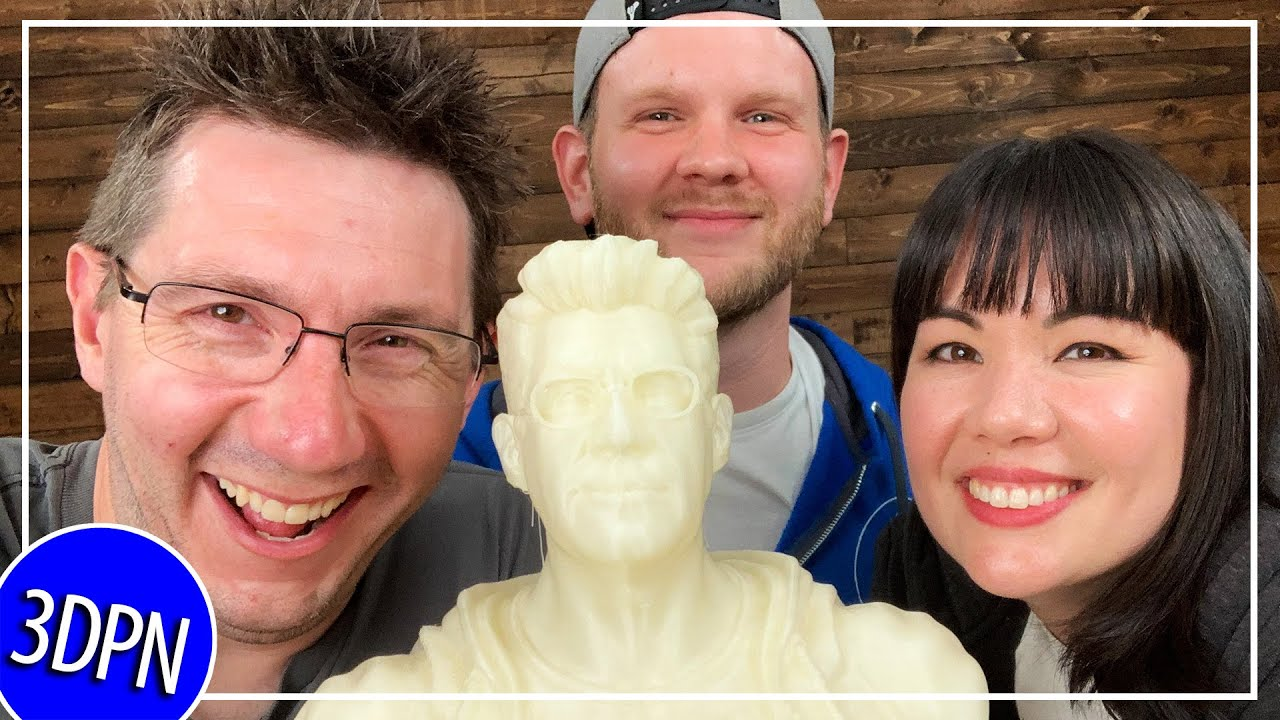 3D Printing a BUST of MYSELF?