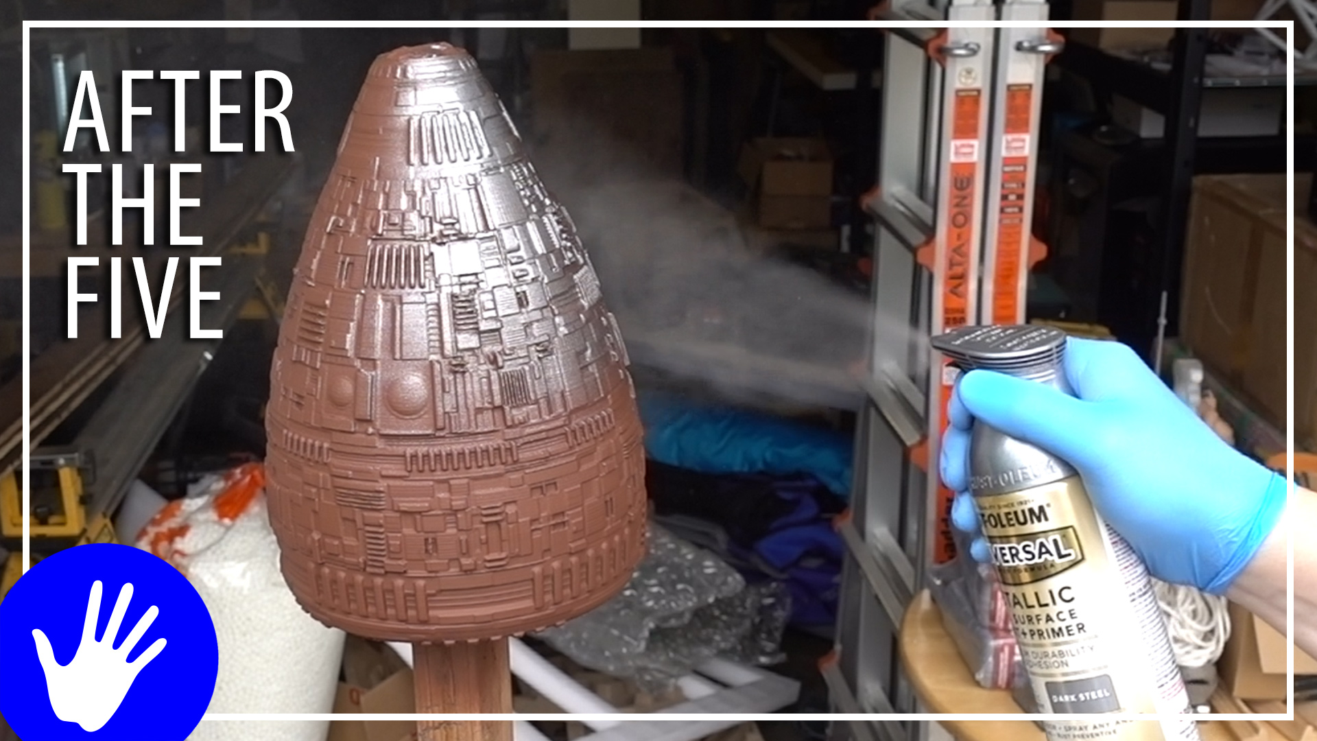 After The Five – SciFi Lamp Shade