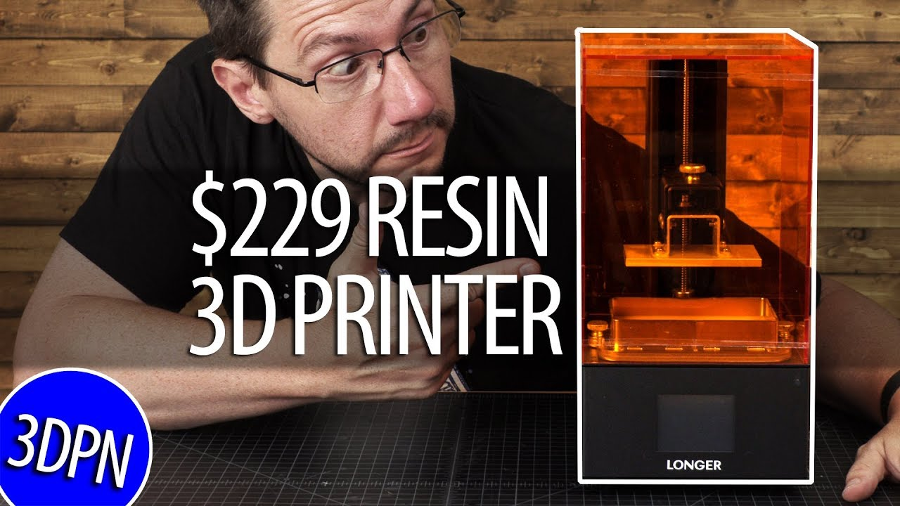 $229 Resin 3D Printer / Longer3D Orange 10 – Does It Work?