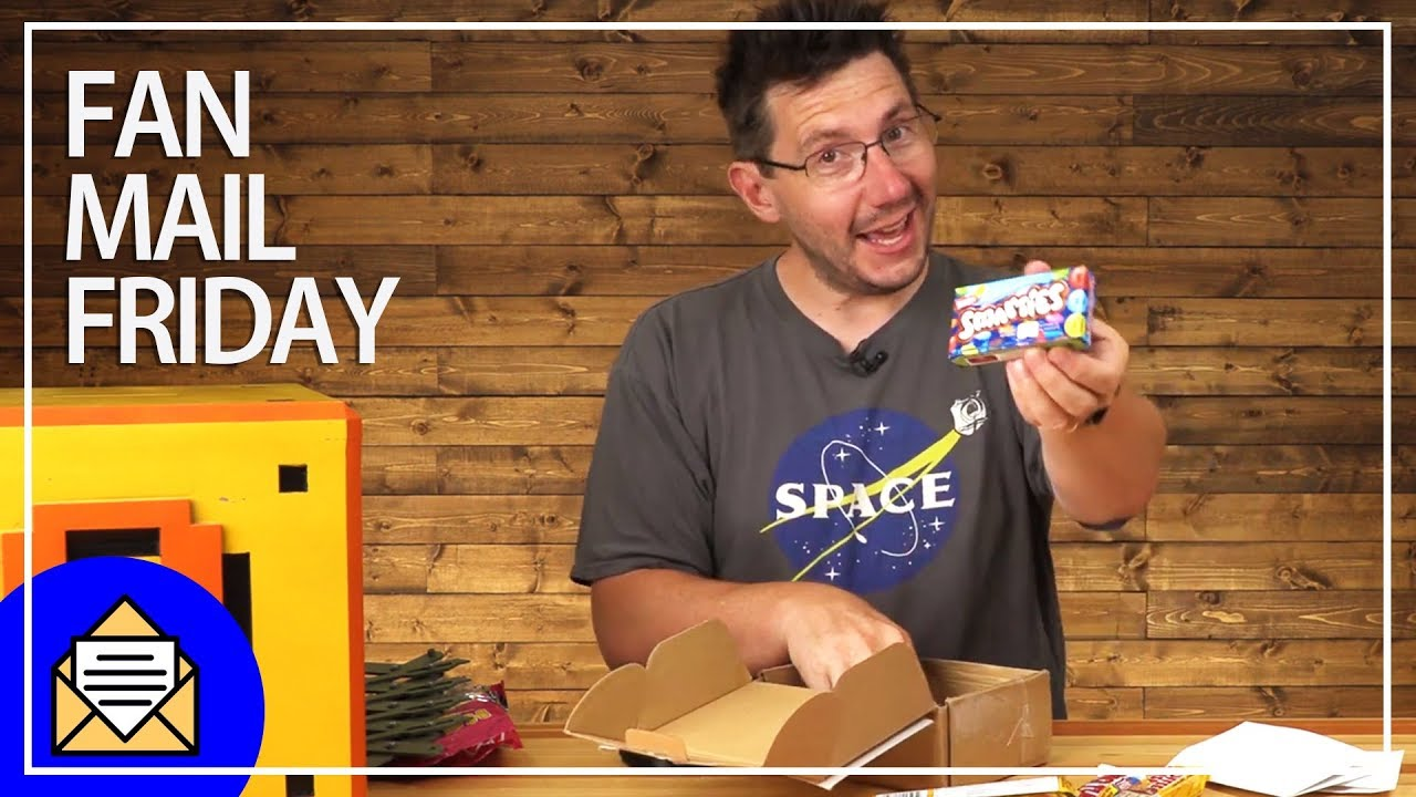 Fan Mail Friday – MORE CANADIAN CANDY!