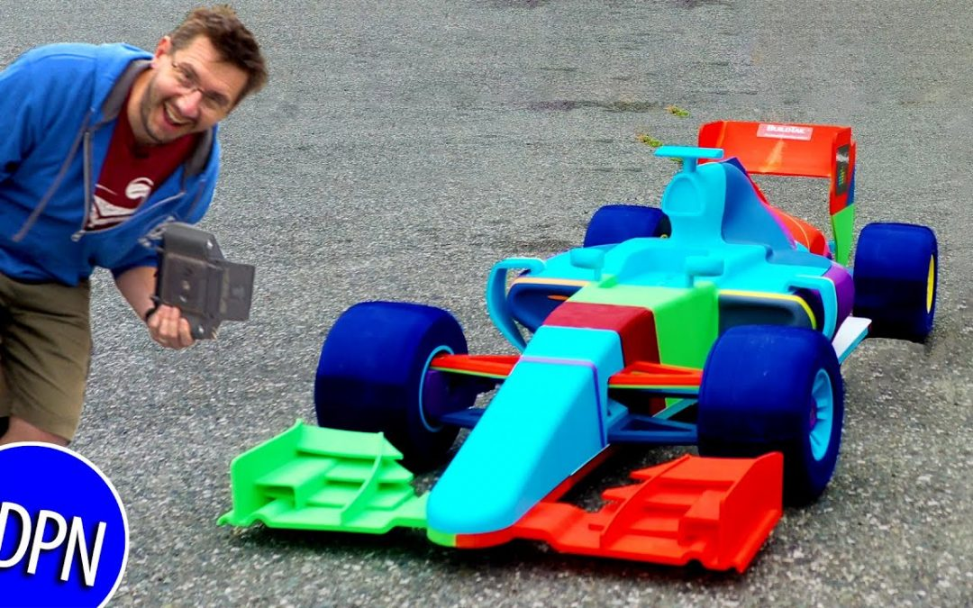 Worlds Largest OpenRC F1 3D Printed RC Car – IT DRIVES!