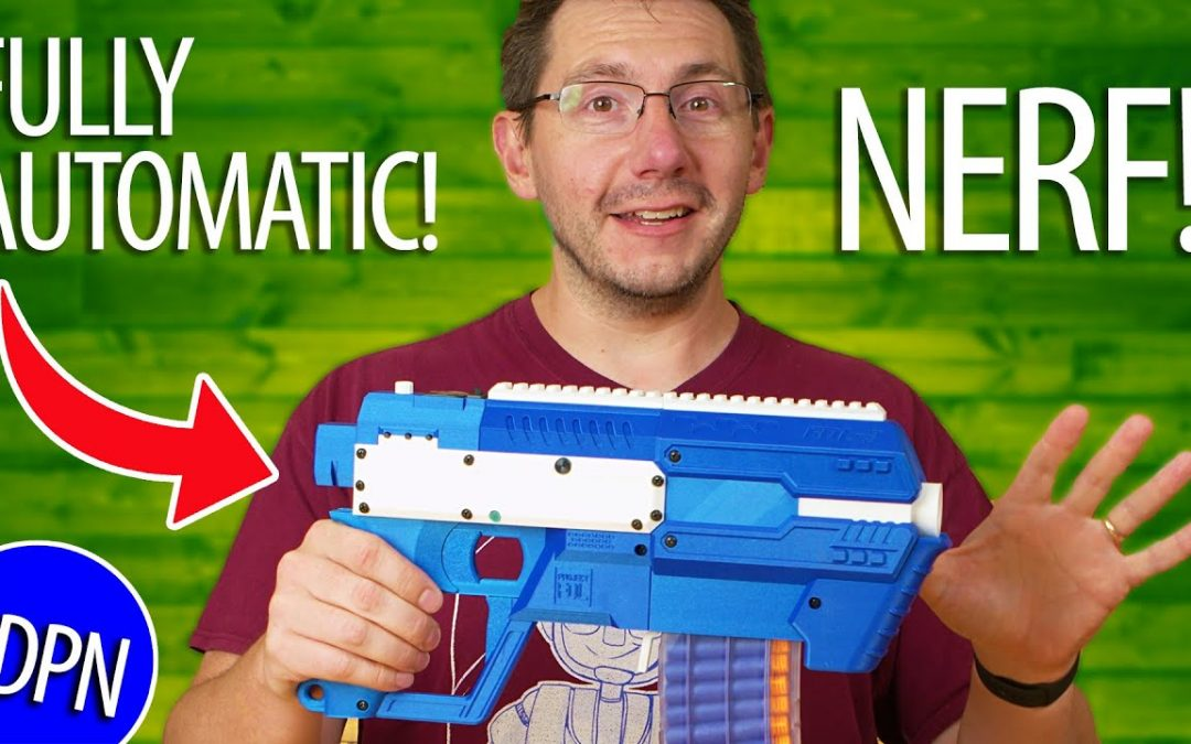 Fire Nerf Darts FAST – 3D Printing the Project FDL3 Blaster for ERRF!