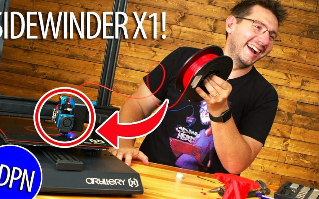The Artillery3D Sidewinder X1 3D Printer – A Must Have?