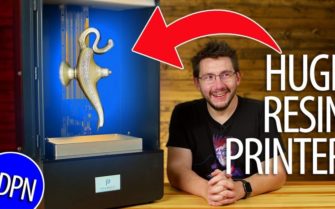 HUGE Resin Printer – First Impressions of the Peopoly Phenom mSLA 3d Printer