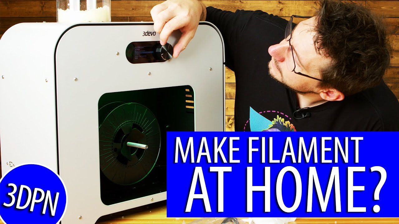 Make Your Own Filament at Home: Take 2 – 3DEVO COMPOSER First Impressions