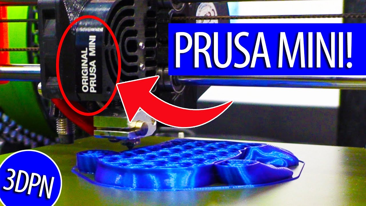 $349 PRUSA MINI – Impressive Features AND a 32 bit board in a Smaller Form Factor