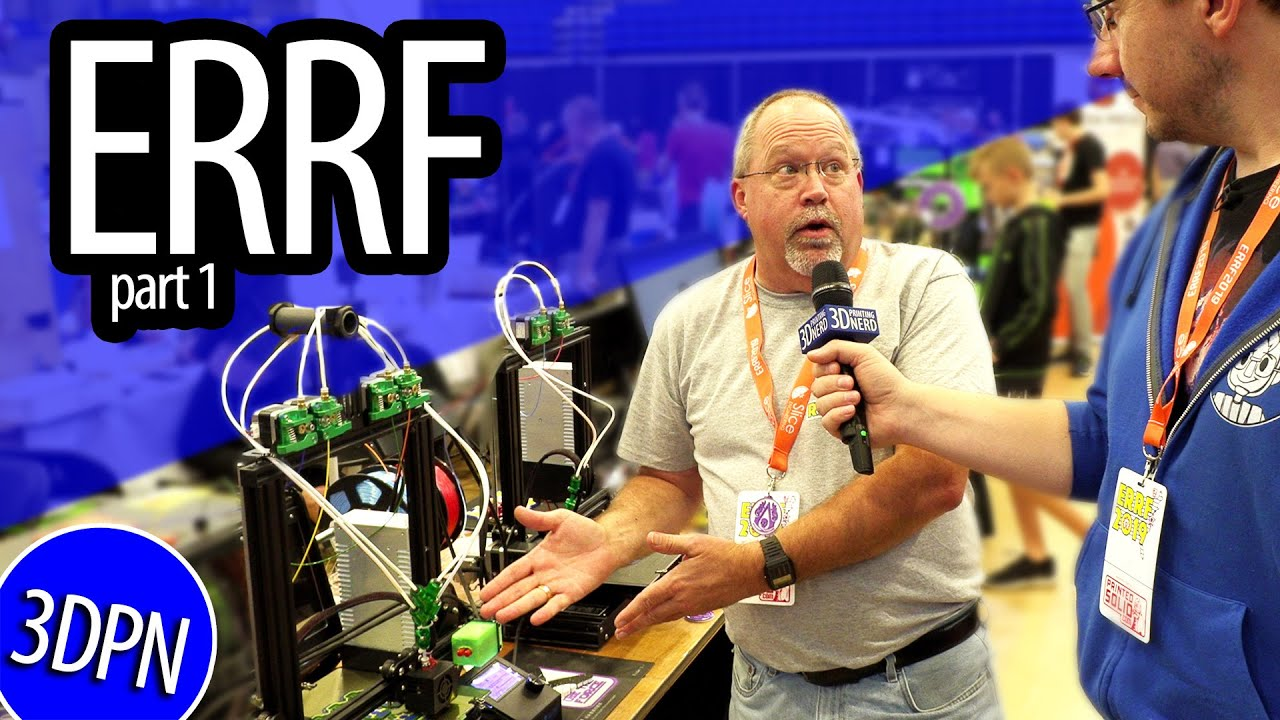 East Coast RepRap Festival – Interviews From the Show Floor!