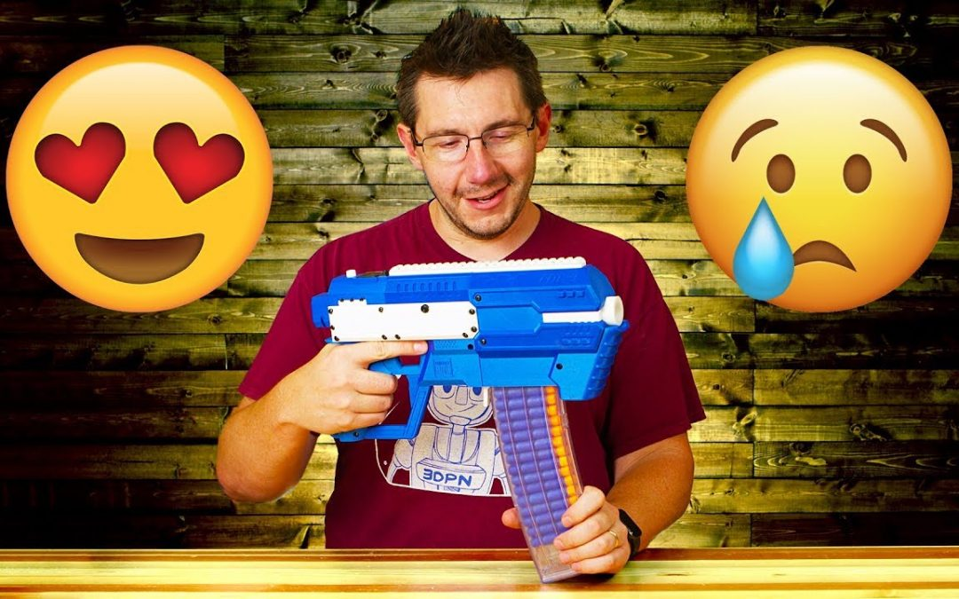 Full Breakdown of the Project FDL Nerf Blaster and some Sad News