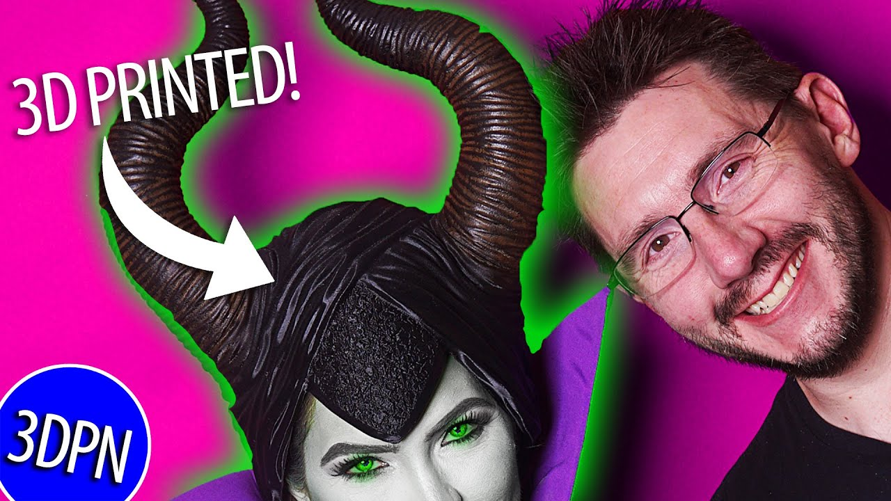 EPIC Maleficent Cosplay – 3D Printed!
