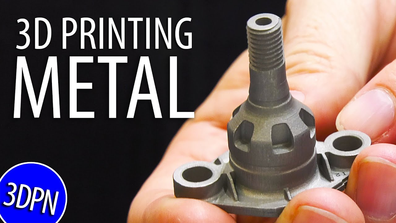 3D PRINTING METAL and More Awesome 3D PRINTERS at Formnext 2019!