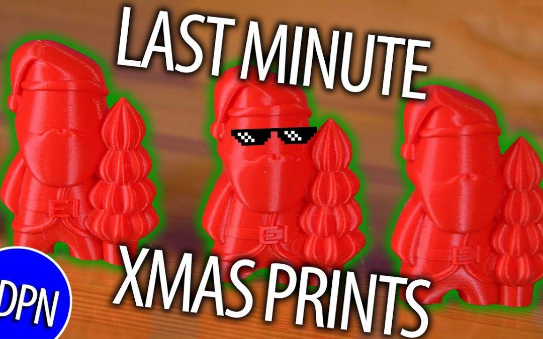Last Minute Christmas Prints 2019