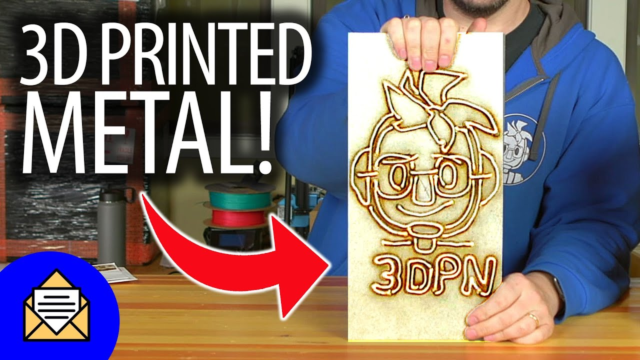 Fan Mail Friday IS BACK – 3D Printed Metal Joelbot Head!