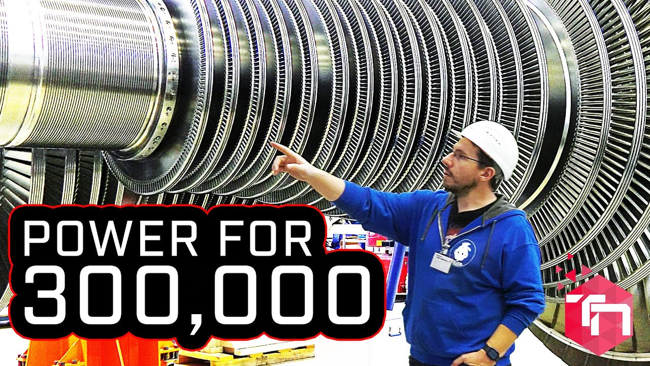 Power For 300,000 Thanks to 60 Ton Industrial Steam Turbine