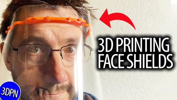 3D Printing Face Shields and YOU CAN TOO!