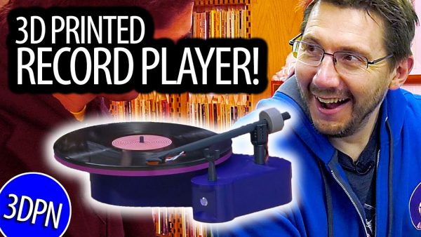 We Created a WORKING 3D PRINTED RECORD PLAYER!