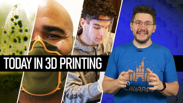 Today In 3D Printing // 3D Printed Bionic Coral, Marines Making Face Shields, Maker Spotlight