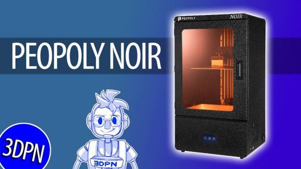 LIVE STREAM: First Look at the Peopoly Noir Resin 3D Printer