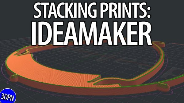 HOW TO STACK 3D PRINTS in IDEAMAKER