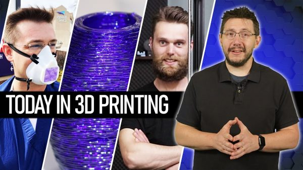 3D Printing Face Masks, 3D Printing Glass, and Proper Printing // Today In 3D Printing