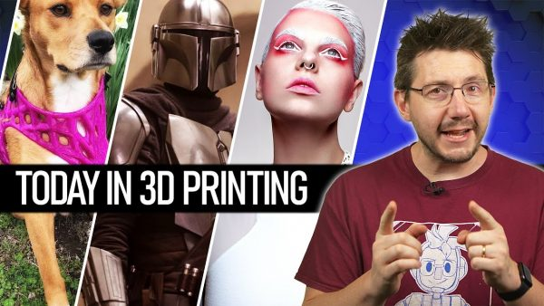 3D Printing Puppy Dog Prosthetics, Mandalorian PPE, Math Powered Jewelry // Today In 3D Printing