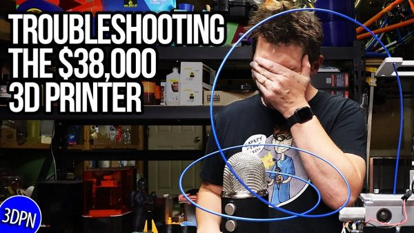 Troubleshooting the $38,000 3D Printer