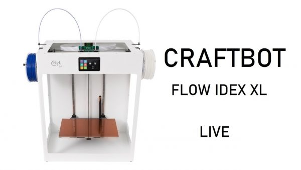 Getting our FLOW IDEX XL on with Craftbot!