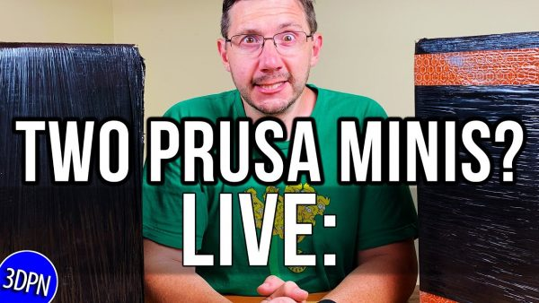 LIVE: Unboxing 2 Prusa MINI 3D Printers WITH MY DAUGHTER!