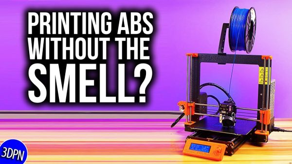 3D Printing ABS for a Smell Test!