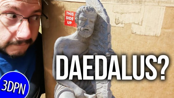 STREAMED LIVE: What's a DAEDALUS 3D Printer???