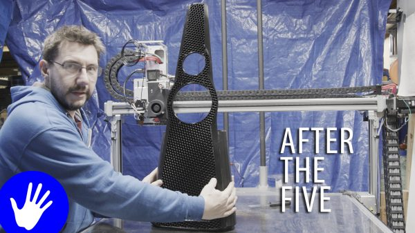 After The Five // 3D Printed Speaker Part 1
