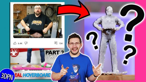 3D Printing Bobby Duke & The Hacksmith TOGETHER IN REAL LIFE?! #HoverWewd