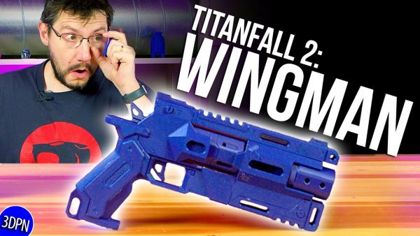 3 YEARS LATER! 3D Printing the WINGMAN from TITANFALL 2