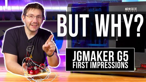 Who Is This 3D Printer For? // JGMaker G5 First Impressions