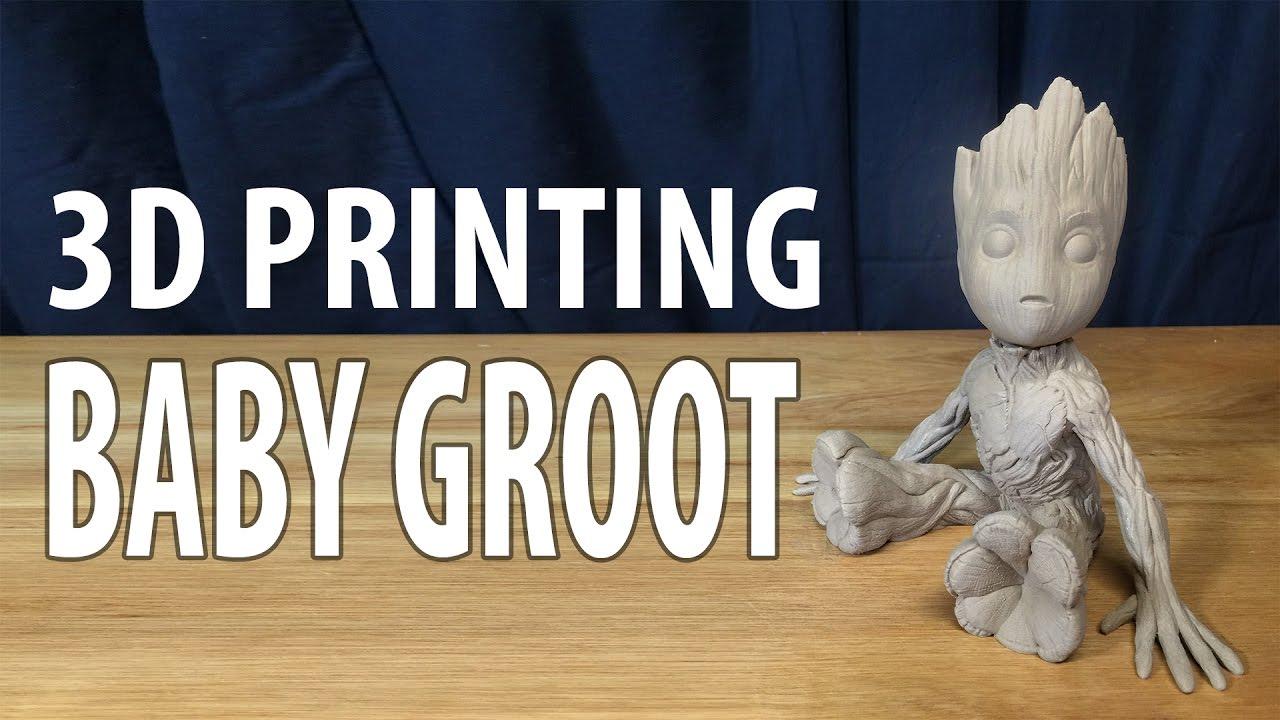 3D Printing Baby Groot